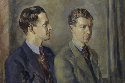 Tenor Sir Peter Neville Luard Pears and (Edward) Benjamin Britten at National portrait gallery
