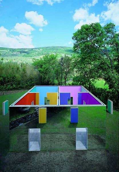 Tra mecenatismo e innovazione i musei d arte ambientale d for Planimetrie della fattoria contemporanea