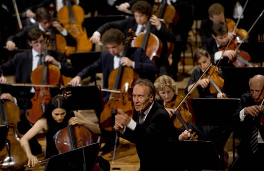 Claudio Abbado with the Lucerne Festival Orchestra