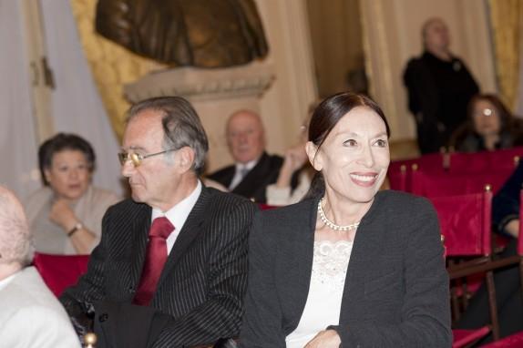 15 - Luciana Savignano e il marito, socio onorario degli Amici della Scala