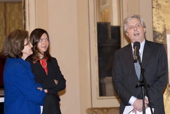 03 - Anna Crespi, Vittoria Crespi Morbio e il sovrintendente Stéphane Lissner