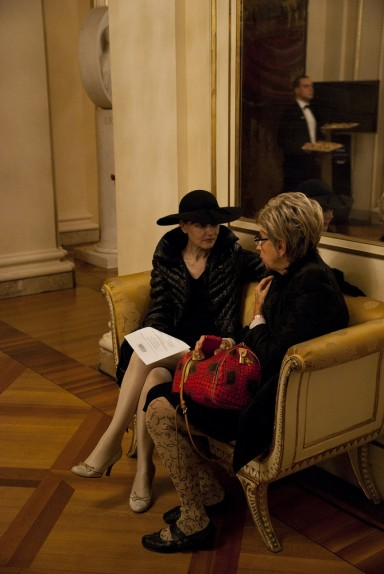 17 - La poetessa Patrizia Valduga e la giornalista Fiorella Minervino