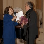 05 - La presidente Anna Crespi e l'assessore alla cultura del comune di Milano, Stefano Boeri