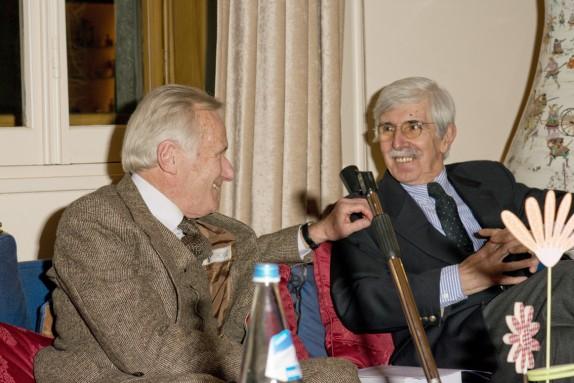 Cesare Mazzonis e Piero Gelli