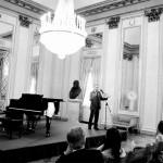 Il professor Antonio Rostagno introduce la premiazione