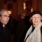 Bruno Ermolli e Rosellina Archinto