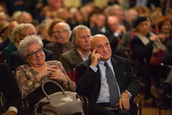 Arnaldo Pomodoro e Livia Pomodoro