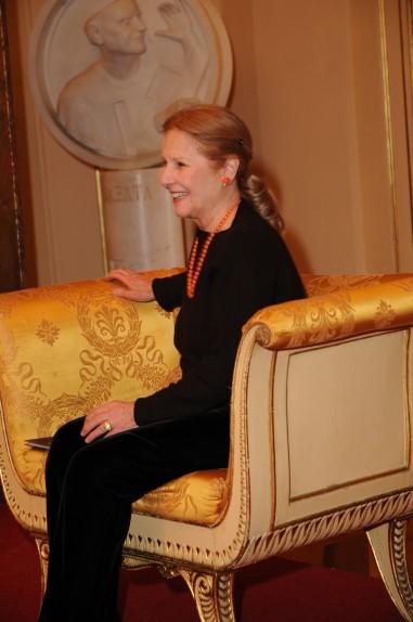 Giulia Lazzarini il giorno della nomina a socia onoraria degli Amici della Scala - Foto di Gerardo Pizzocari