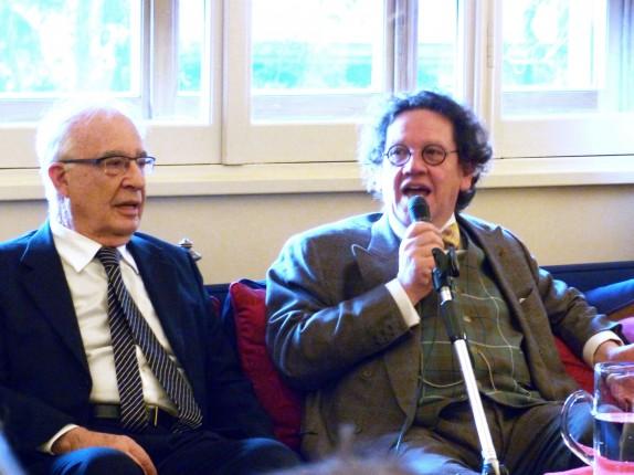 Philippe Daverio e Leone Magiera