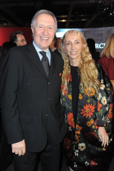 Ettore Mocchetti e Carla Sozzani (foto da www.vogue.de)