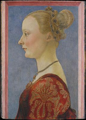 Piero del Pollaiolo Ritratto di donna di profilo © New York, The Metropolitan Museum of Art, Bequest of Edward Harkness, 1940