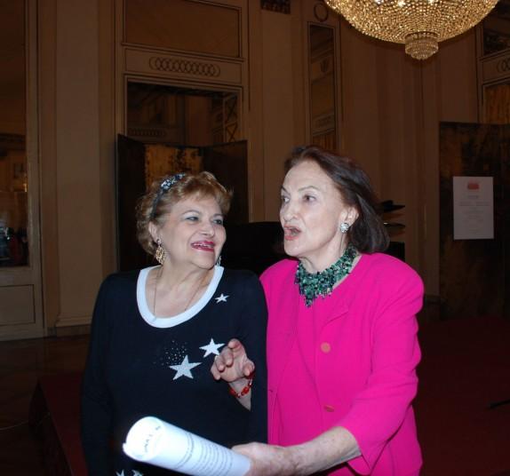 Adriana Maliponte e Anna Crespi (foto Carla De Bernardi)