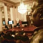 Anna Crespi sul palco (foto Gerry Pizzocari)