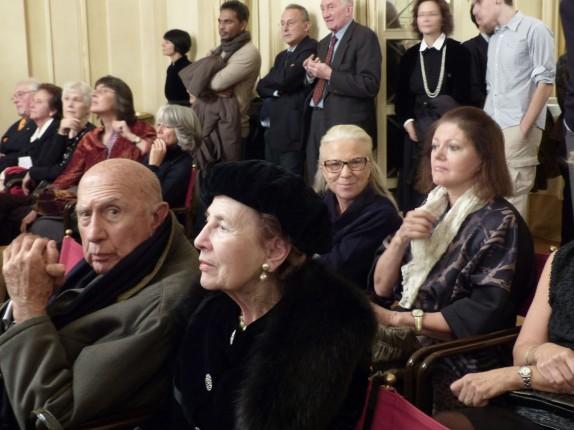 Beppe Modenese tra il pubblico(foto Matilde Garelli)
