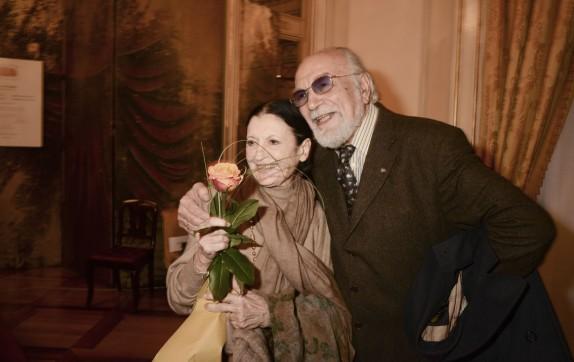 Carla Fracci e Renato Bruson (foto Gerry Pizzocari)