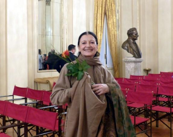 Carla Fracci (foto Matilde Garelli)