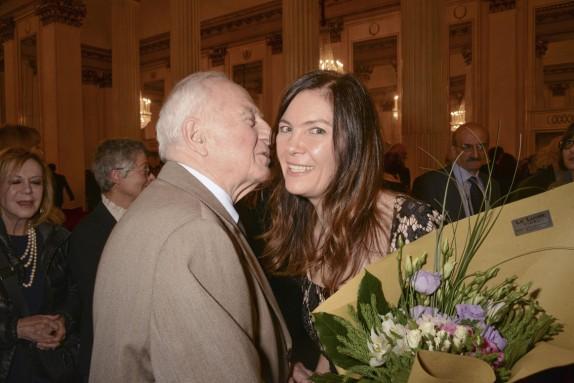 Carlo Bertelli e Vittoria Crespi Morbio (foto Gerry Pizzocari)