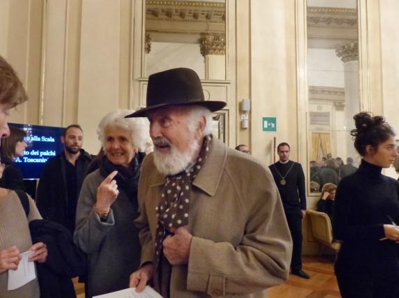 Cesare Rimini e signora (foto Matilde Garelli)