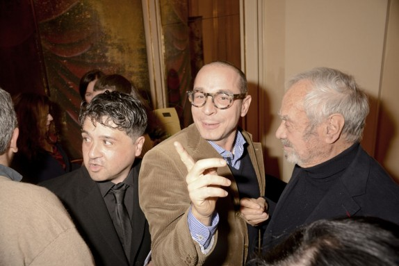 Eros Renzetti, Francesco Micheli e Ezio Frigerio (foto Gerry Pizzocari)