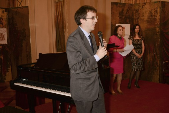Filippo del Corno, Anna Crespi e Vittoria Crespi Morbio (foto Gerry Pizzocari)