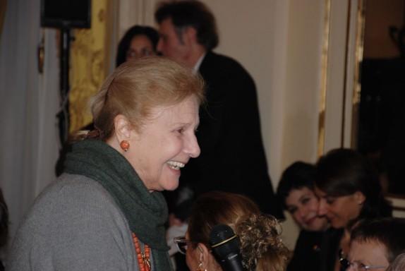 Giulia Lazzarini (foto Carla De Bernardi)