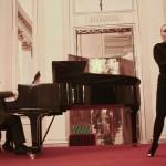 Il pianista James Vaughan e la soprano Elena Monti (foto Gerry Pizzocari)