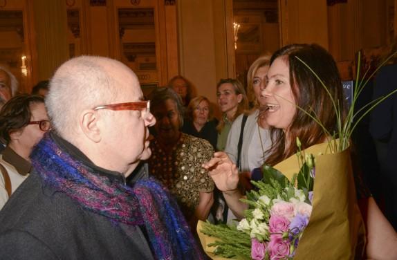 Pierre Spivakoff e Vittoria Crespi Morbio (foto Gerry Pizzocari)