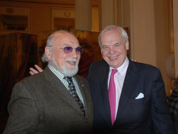 Renato Bruson e Alexandre Pereira (foto Carla De Bernardi)