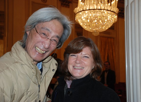 Takashi Shimura e Isabella Marelli (foto Carla De Bernardi)
