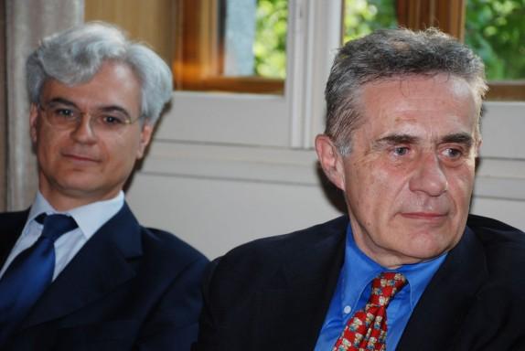 Giangiorgio Satragni e Angelo Foletto